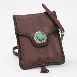 sk-081tt-t_handmade_leather_handbag_purse_western_tribal_southwestern_brown_small_concho_turquoise_crossbody_
