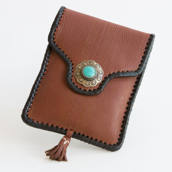 sk-190tt-t_handmade_leather_handbag_purse_western_tribal_southwestern_brown_small_concho_turquoise