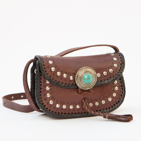 SK-243TT-T_handmade_leather_handbag_purse_western_tribal_southwestern_brown_small_crossbody_concho_turquoise_