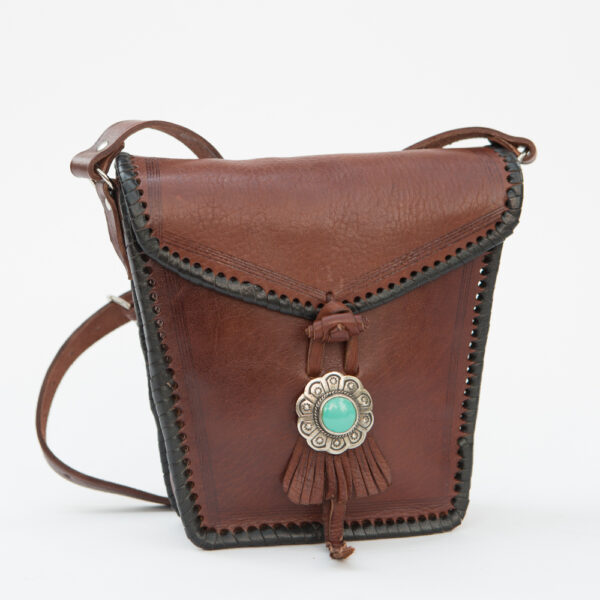 sk-013tt-t_handmade_leather_handbag_purse_western_tribal_southwestern_brown_small_concho_crossbody_turquoise