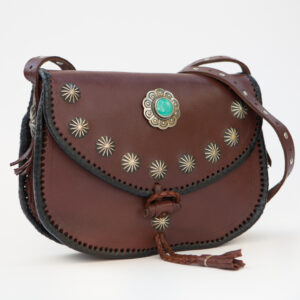 sk-017tt-t_handmade_leather_handbag_purse_western_tribal_southwestern_brown_concho_crossbody_medium_turquoise_