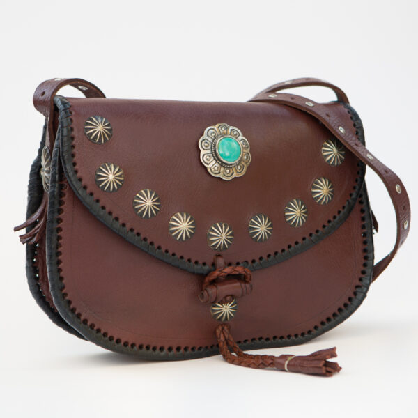 sk-017tt-t_handmade_leather_handbag_purse_western_tribal_southwestern_brown_concho_crossbody_medium_turquoise_